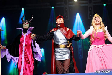 Sleeping Beauty Prince Philip vs Maleficent