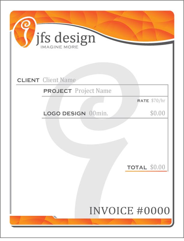 JFS Letterhead   Invoice By JFS Design ...  Invoice Letterhead