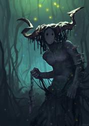 Swamp Spirit by JunuArt