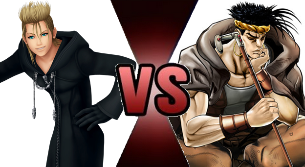 Demyx vs N'Doul by Fail-Seeker