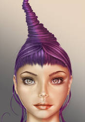 Purple Gaze