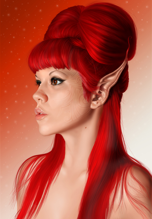 Red Elf by roes