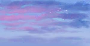 Sky study by Noxaunu