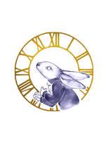 Inktober 2018 - Day 14 - Clock