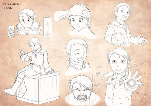 Gestures and Expressions - Xeon