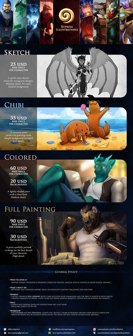 Commission Information by Koru-Xypress
