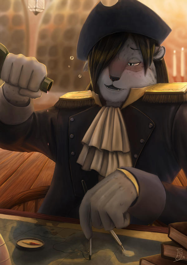 Drunken Captain by Koru-Xypress
