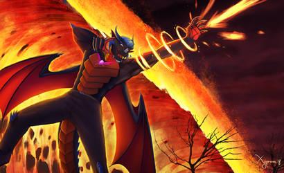 Commission: DragonicRex by Koru-Xypress