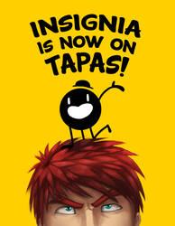 Insignia comic is now on Tapas! by Koru-Xypress