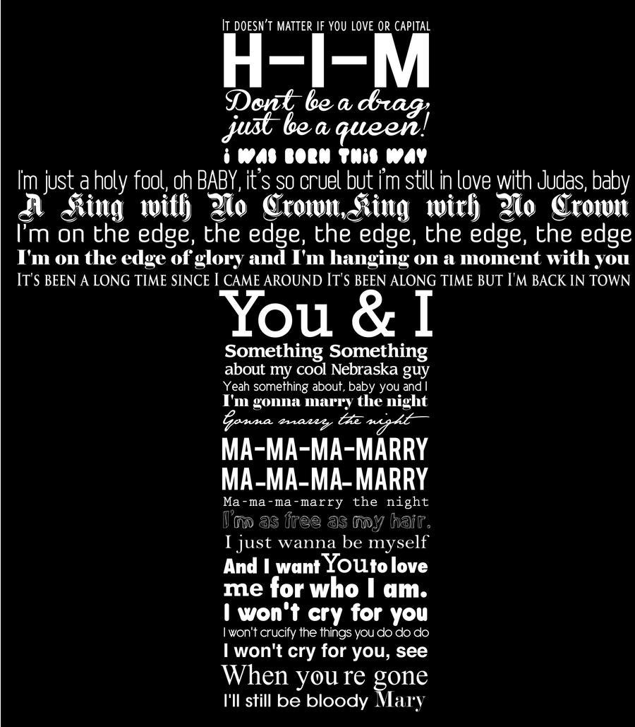 lady gaga lyrics tumblr - photo #32