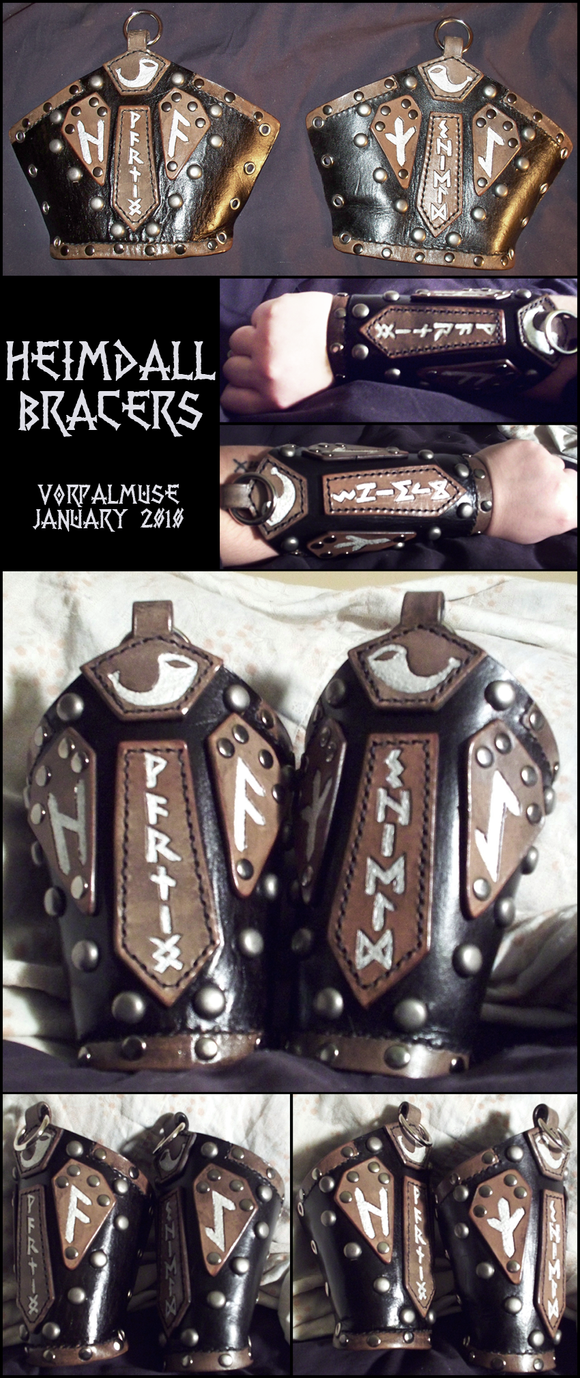 Heimdall Bracers by TheScreamingNorth