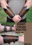 Bronze Dragon Bracers