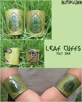 Leaf Cuffs by AThousandRasps