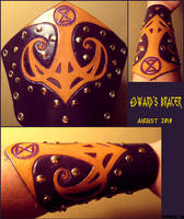 Edward's Bracer by AThousandRasps