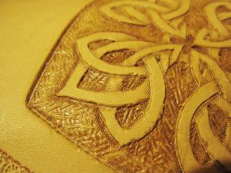 Celtic Knot Bag WIP 2 by AThousandRasps