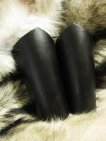 Simple Black Bracers by AThousandRasps