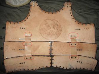 Breastplate Inside Construction by AThousandRasps