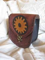 Burgundy Gear Bag by AThousandRasps