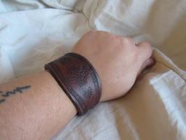 Celtic Bracelet by AThousandRasps