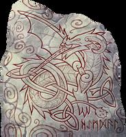 Heimdall Knot Badge by AThousandRasps