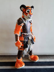 Tiger Barbarian Armor