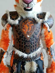 Tiger Barbarian Armor 2