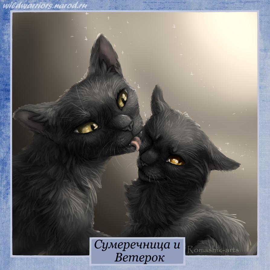 Ветерок коты воители