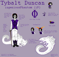 Reference Sheet: Tybalt Duncan by Aettchen