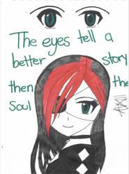 Emo Girl by FoxyFireRose