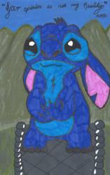 Stitch by FoxyFireRose