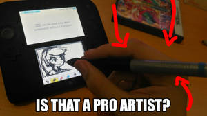HOW TO BE A PRO ARTIST ON THE 3DS by HampTC
