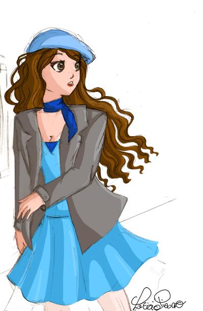 5b3cdb0222 mi vestido azul - incomplete by Chibi91 on DeviantArt