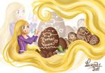 Rapunzel easter
