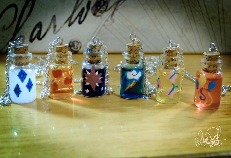 CutieMark Bottle Charms