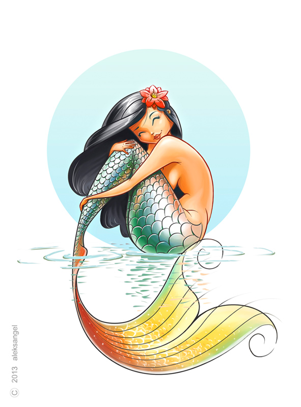 Mermaid. by aleksangel on DeviantArt