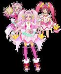 Fusion Request: Hikina (Cure Star Scream)