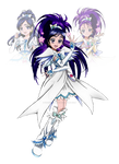 Fusion Series 8: Monoka (Cure White Egret)
