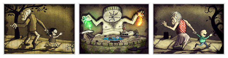 Time is Lord of transformation in the life game by Ehsartem