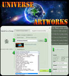 Submit in Universe-Artworks from artist gallery