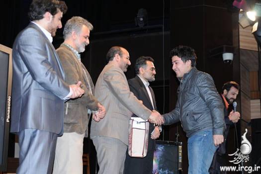 Winner in persian games festival