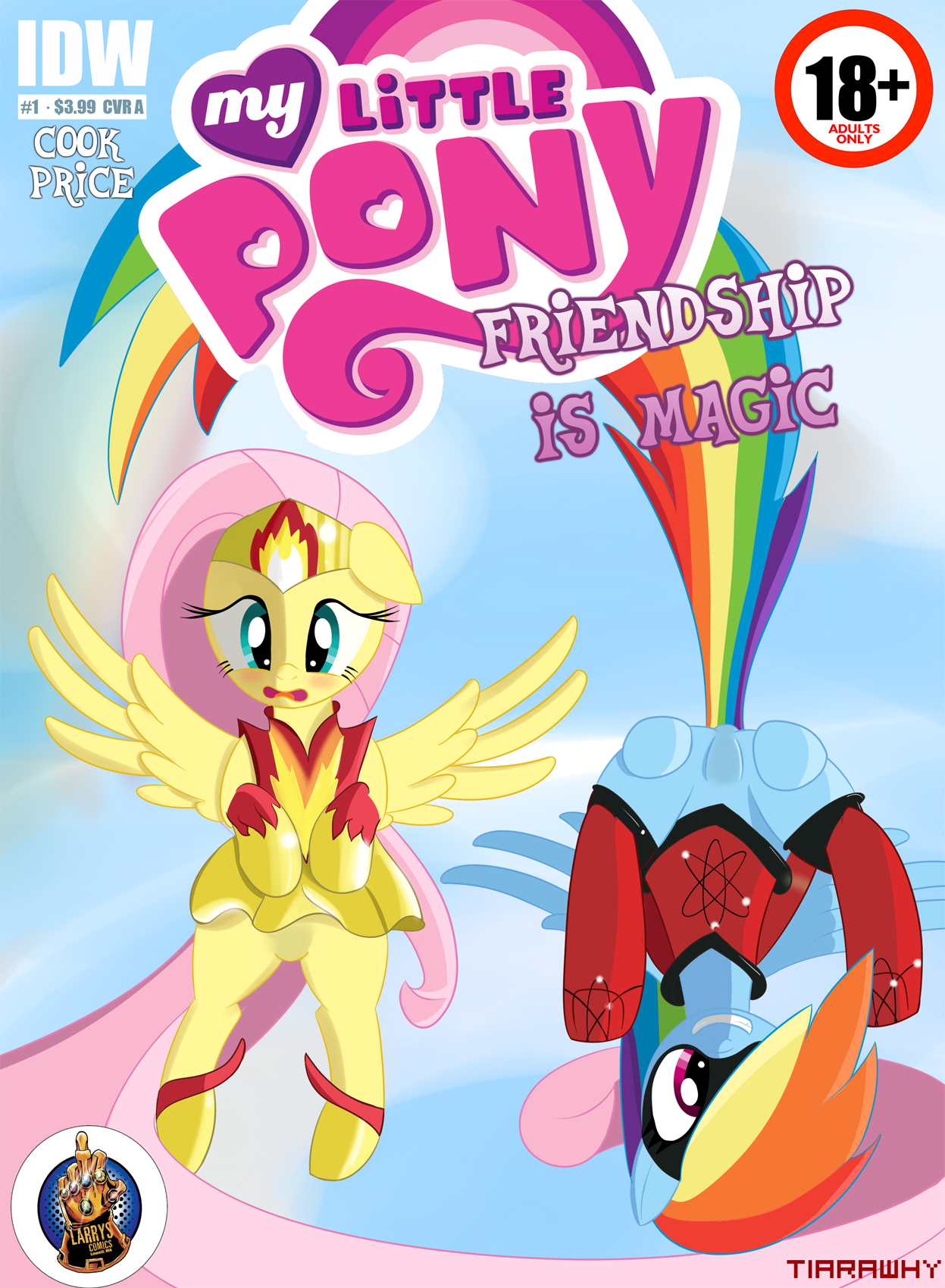 MLP Comic: Issue 1 Cover Adult. by tiarawhy