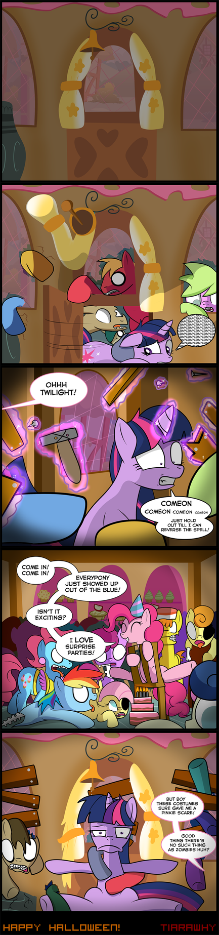 Twilight Sparkle Halloween! by tiarawhy