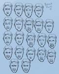 Bruce Face Art Dump