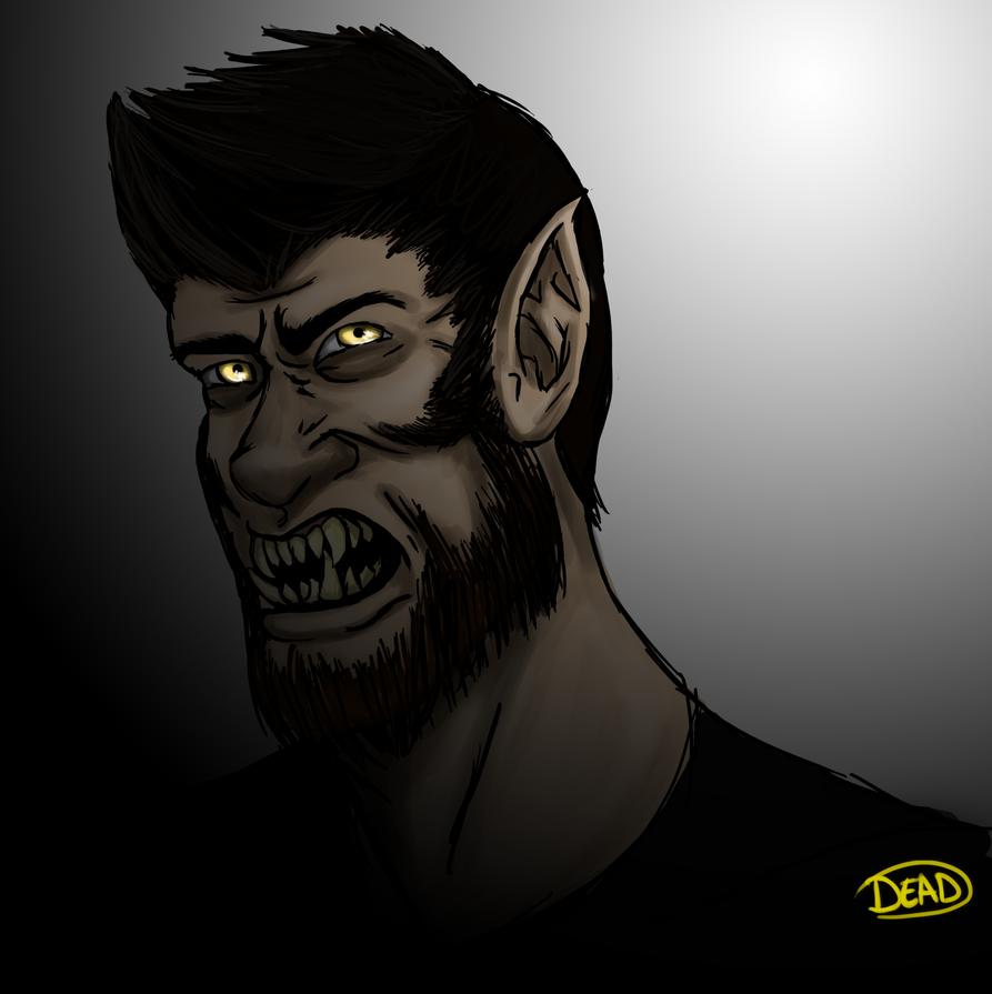 Werewolf!Mark by irdeadite