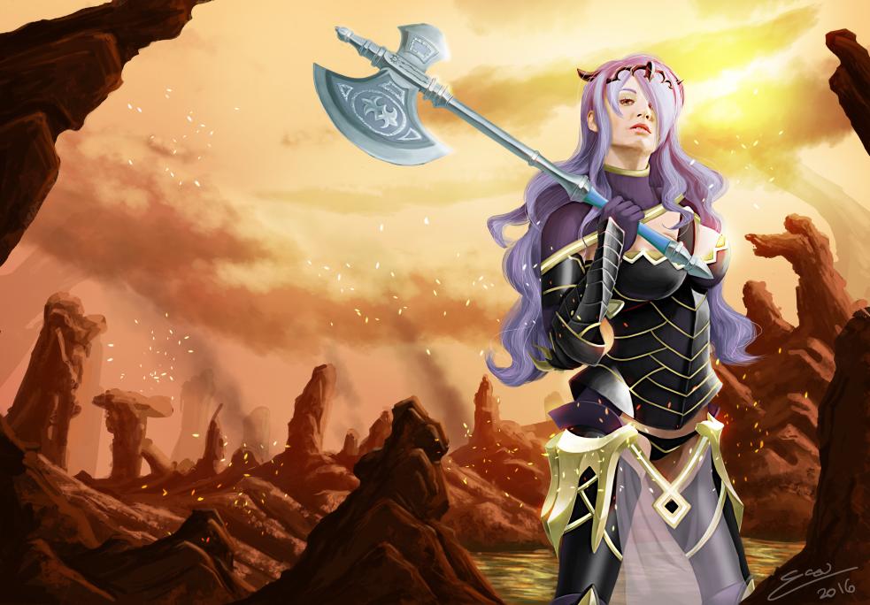 Camilla - Fire Emblem Fates by Shu-Silver