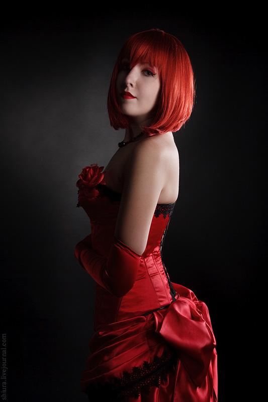 Madam Red by gorlitsa