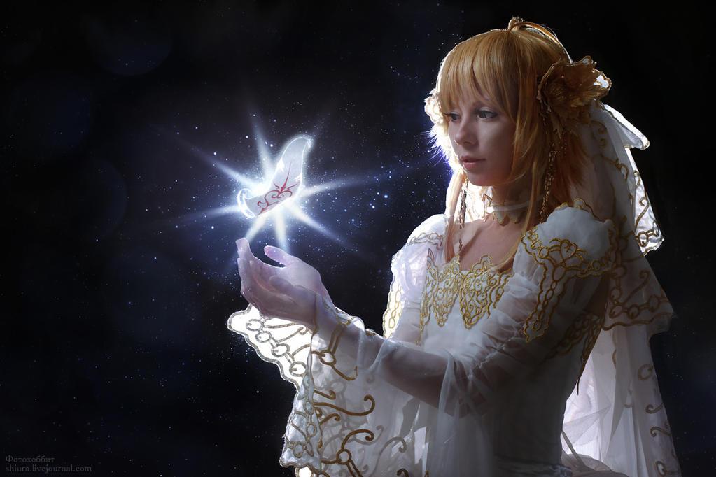 The magic feather Sakura by gorlitsa