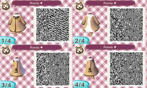 Animal Crossing NL-Hetalia QR Codes- Russia