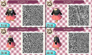 Animal Crossing NL- QR Code- Vocaloid IA