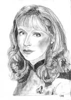 Beverly Crusher - portrait by camir